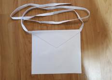 12 Apron Special !  Entered Apprentice  Traditional Plain Basic White Lambskin  Apron  13 X 15 Cotton Belt