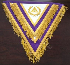 Cryptic Rite Royal & Select Council Aprons with Fringe