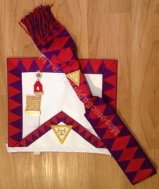 ROYAL ARCH COMPANION  APRON , SASH  & JEWEL SPECIAL