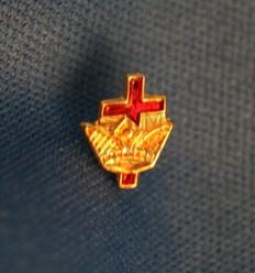 Knight Templar  Cross & Crown Lapel Pin