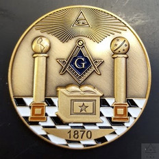 Custom Masonic  Presentation Coins