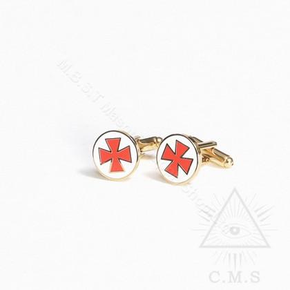 Knight Templar Cuff Links