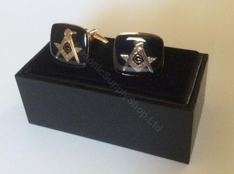 Cufflinks – Craft Black SQ&C  Square