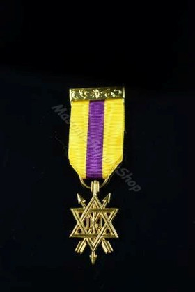 Order of the Secret Monitor  2nd  Degree Breast Jewel