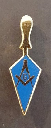 Lapel pin Trowel with SQ & C