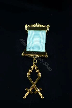 Inner Guard  Breast Jewel on Ribbon