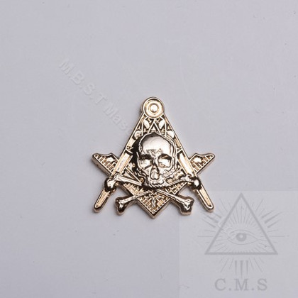 Masonic Skull  lapel pin