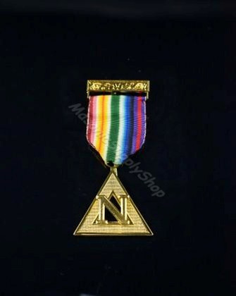 Past Grand Commander Noah Rainbow Jewel  Gold      JWL-RAM-PGCN