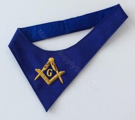 Masonic Cravat  Royal Blue