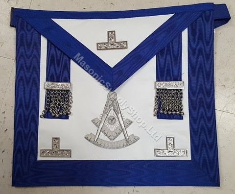 Past Masters apron Silver