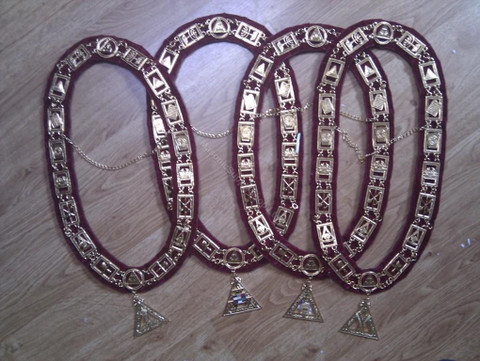 Royal Arch Officers Chain Collar