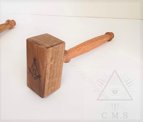 Thor Style Gavel  Oak Wood