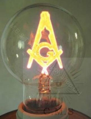 Masonic Light Bulb