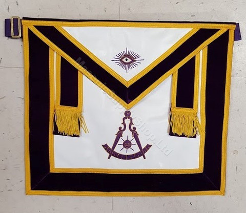 Grand Lodge officers Apron  USA