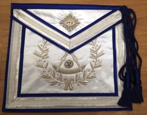 Past Masters Apron-23     Hand Embroidered