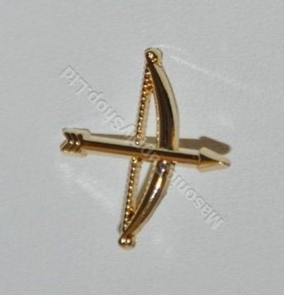 Order of the secret monitor  Lapel pin