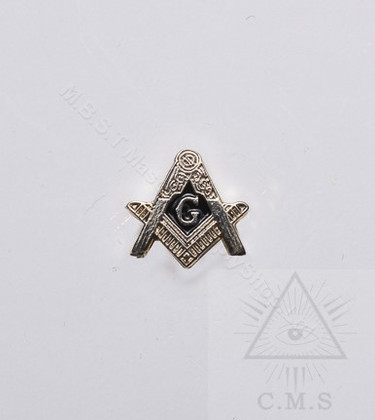 Masonic Lapel Pin  Square & Compass