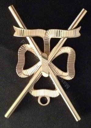 Master of ceremonies  or Director of Ceremonies   Crossed batons