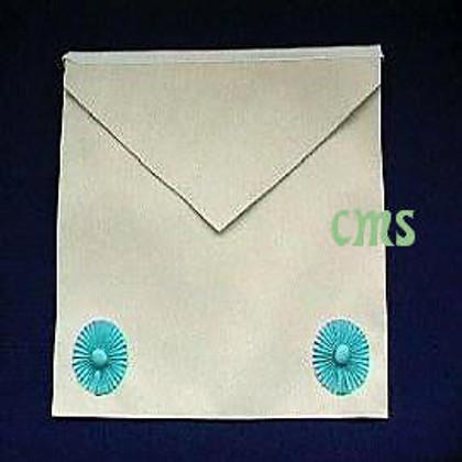 Masonic Fellow Craft apron