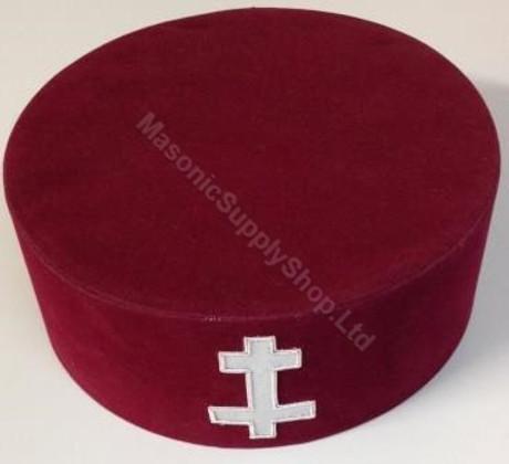Knight Templar Preceptors Hat -2- UK