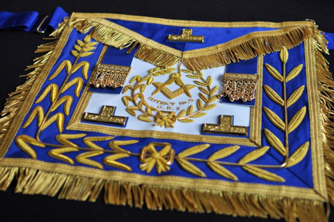 District Deputy Grand Master Dress Aprons