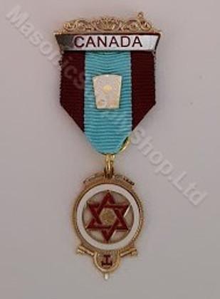 Royal Arch Companion Jewel 2 Color Ribbon