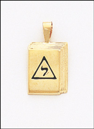32nd DEGREE PENDANT 2 GOLD