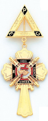 GOLD KNIGHTS TEMPLAR JEWEL HOMJ117