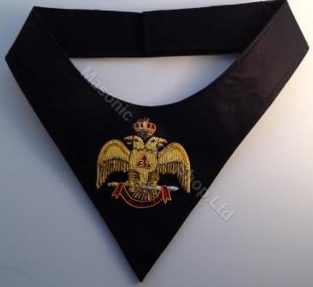 Scottish Rite Cravat  Wings Down 33rd