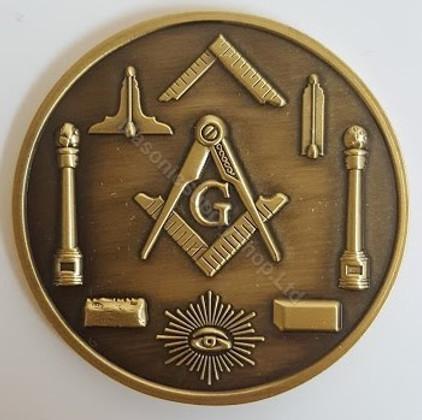 Masonic Presentation Coin         MISC-COIN-1
