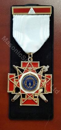 Scottish Rite 33rd Degree jewel