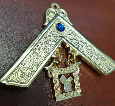Past Masters Jewel  with Blue  Stone