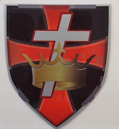 Knight Templar car decal