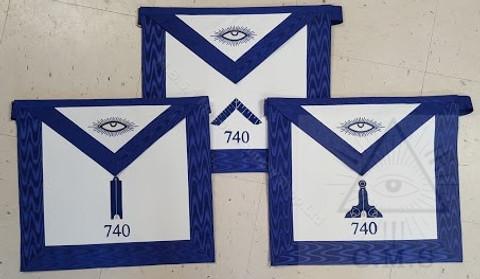 Masonic Lodge Officers Travelling Apron