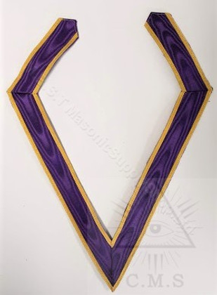 Royal and select Masters Cryptic Rite  collar