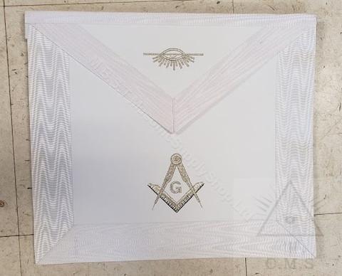 White master mason apron