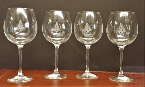 Masonic Wine glasses