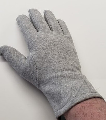 Grey  Masonic Gloves
