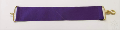Masonic Apron Belt Extenders  Purple