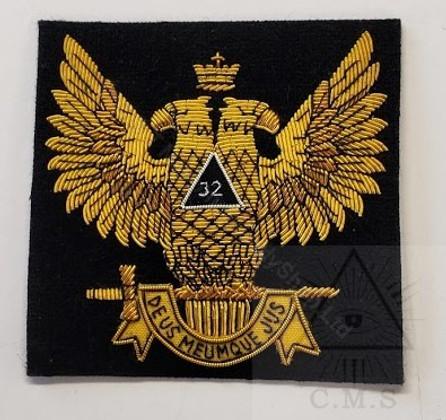 Badge  Scottish Rite Double Headed Eagle