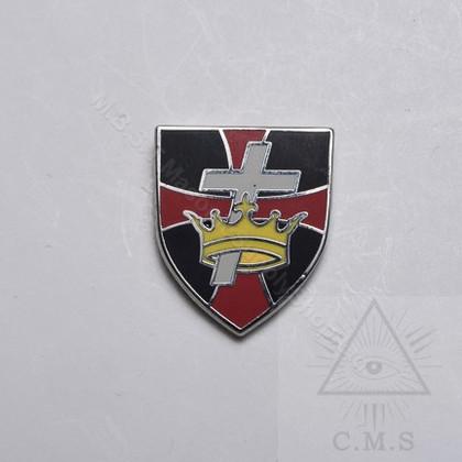 Knight Templar lapel pin