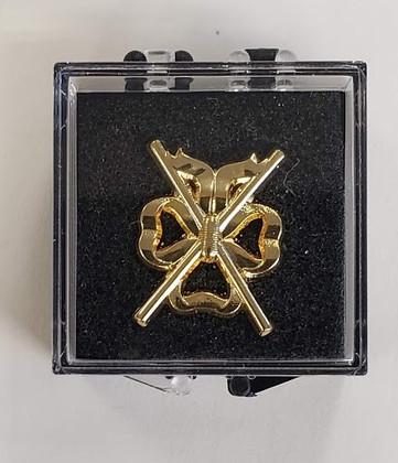 Lodge Director of Ceremonies l Lapel Pin  Crossed Batons