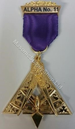 Royal & Select Masters Cryptic Rite P.T.I.M Jewel