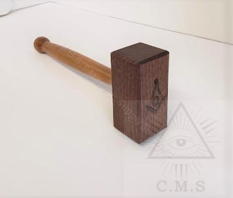 Thor Style Gavel  Walnut  Wood