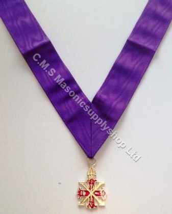 Red Cross of Constantine Soveriegn Jewel and Collarette