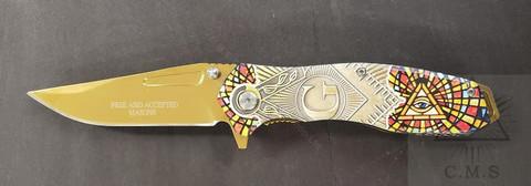 Masonic Pocket Knife