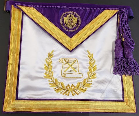 Grand Lodge Officers  Apron  NY  Officer Past