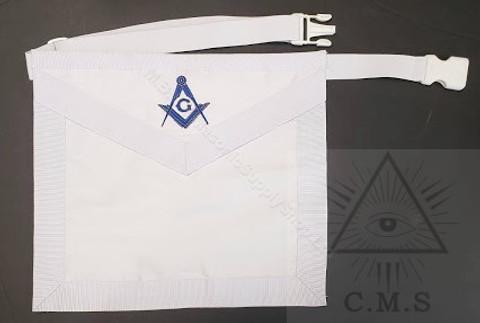 Masonic White Lodge apron