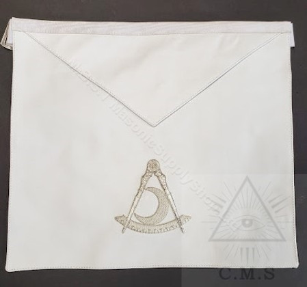Filipino  Grand Officer  D.D.G.M Apron    Lambskin  Hand Embroidered