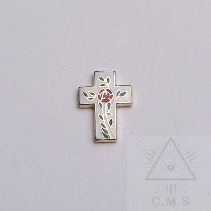 Rosy  Cross  Lapel Pin